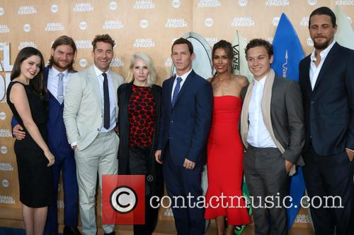 Jake Weary, Actress Molly Gordon, Actor Finn Cole, Actor Ben Robson, Scott Speedman, Ellen Barkin, Shawn Hatosy, Daniella Alonso and Animal Kingdom 2