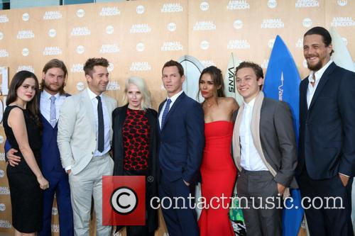 Jake Weary, Actress Molly Gordon, Actor Finn Cole, Actor Ben Robson, Scott Speedman, Ellen Barkin, Shawn Hatosy, Daniella Alonso and Animal Kingdom 4