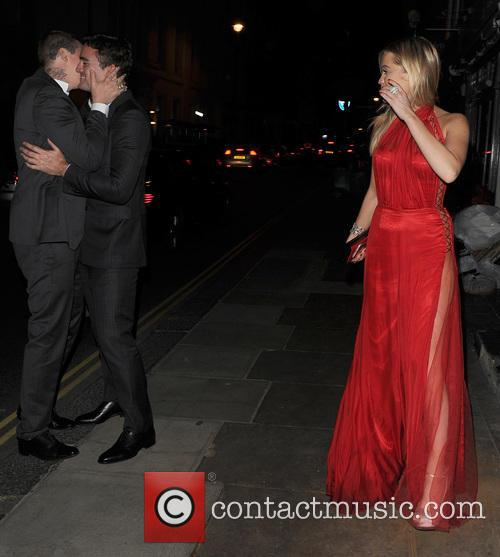 Thom Evans, Professor Green and Laura Whitmore 1