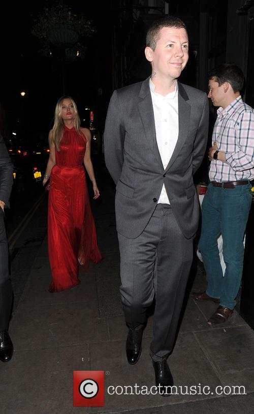 Laura Whitmore and Professor Green 11