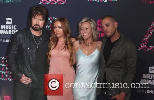 Billy Ray Cyrus, Brandi Cyrus and Joey Lauren Adams 4