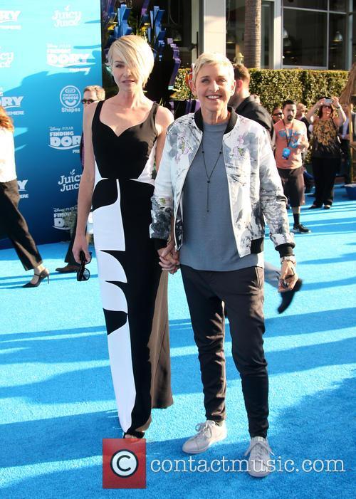 Portia De Rossi and Ellen Degeneres 7