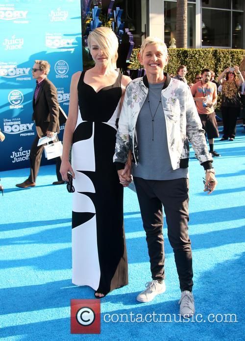 Portia De Rossi and Ellen Degeneres 8