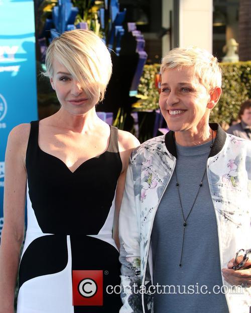 Portia De Rossi and Ellen Degeneres 11