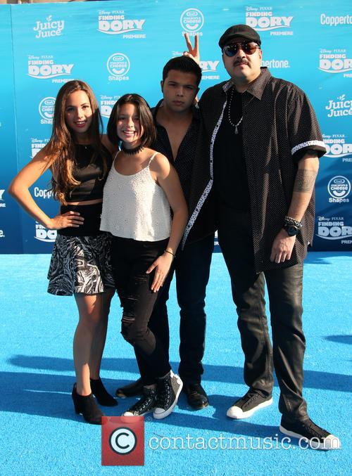 Pepe Aguilar, Angela Aguilar, Emiliano Aguilar and Aneliz Aguilar 7