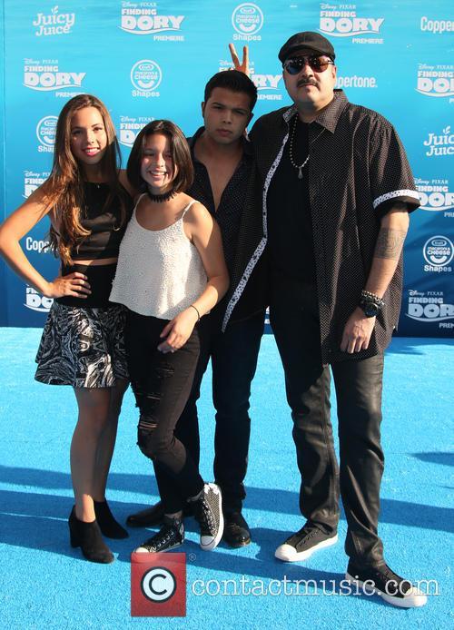 Pepe Aguilar, Angela Aguilar, Emiliano Aguilar and Aneliz Aguilar 8