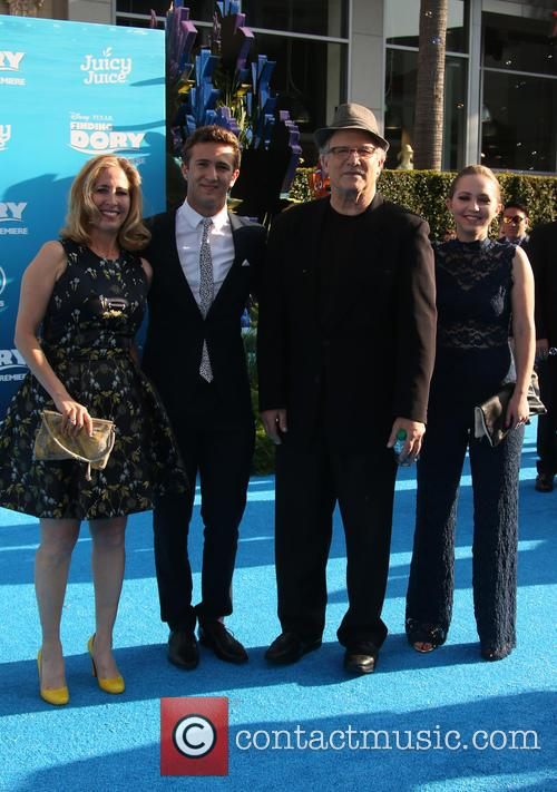 Albert Brooks, Kimberly Shlain, Claire Elizabeth Einstein and Jacob Eli Einstein 3