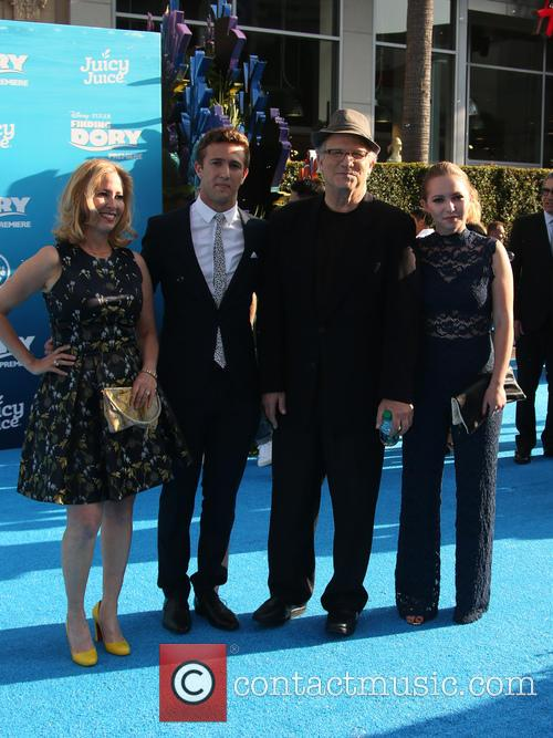 Albert Brooks, Kimberly Shlain, Claire Elizabeth Einstein and Jacob Eli Einstein 8