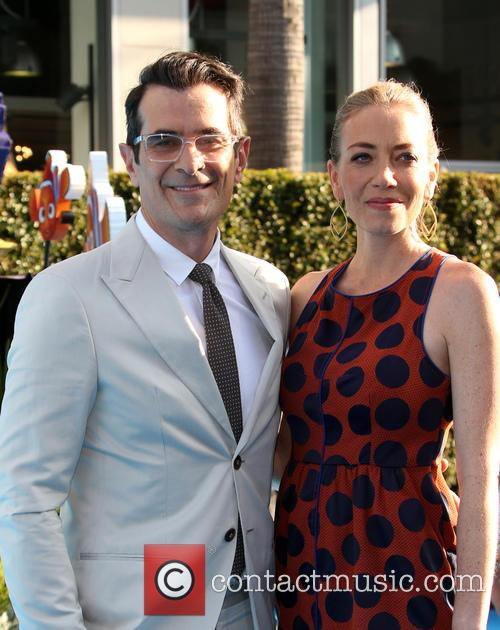Ty Burrell and Holly Burrell 2