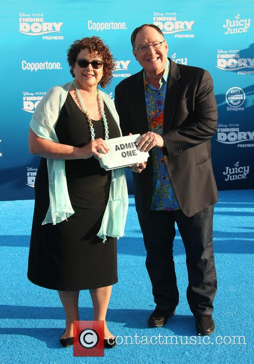 John Lasseter and Nancy Lasseter 1
