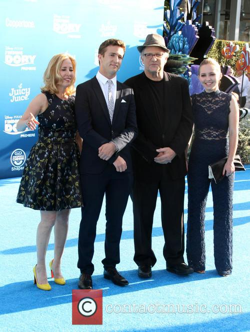 Albert Brooks and Family 5