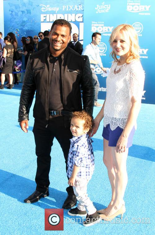 Alfonso Ribeiro and Angela Unkrich 2