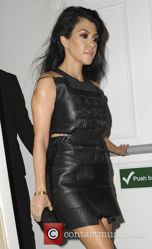 Kourtney Kardashian out and about