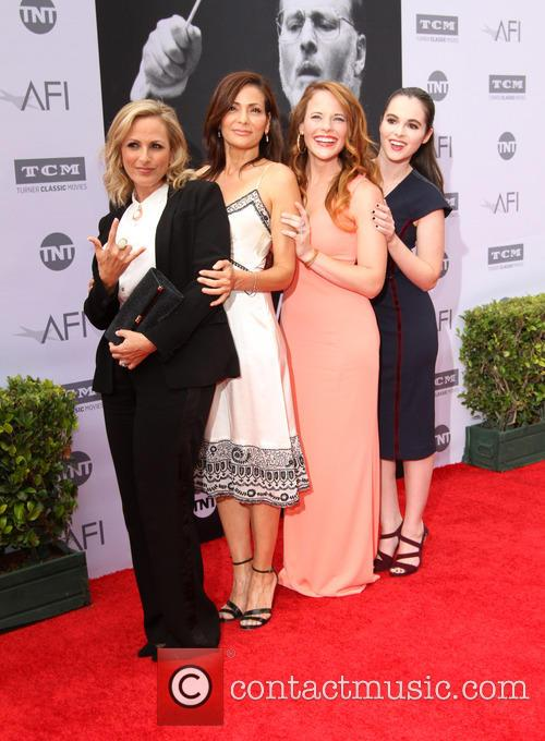 Marlee Matlin, Constance Marie, Katie Leclerc and Vanessa Marano 1
