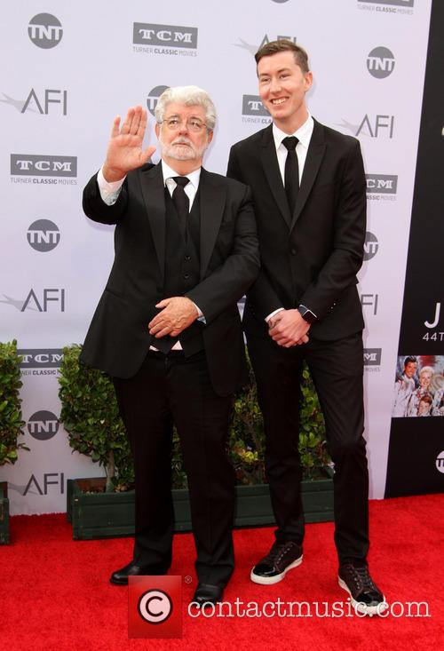 George Lucas and Jett Lucas 1