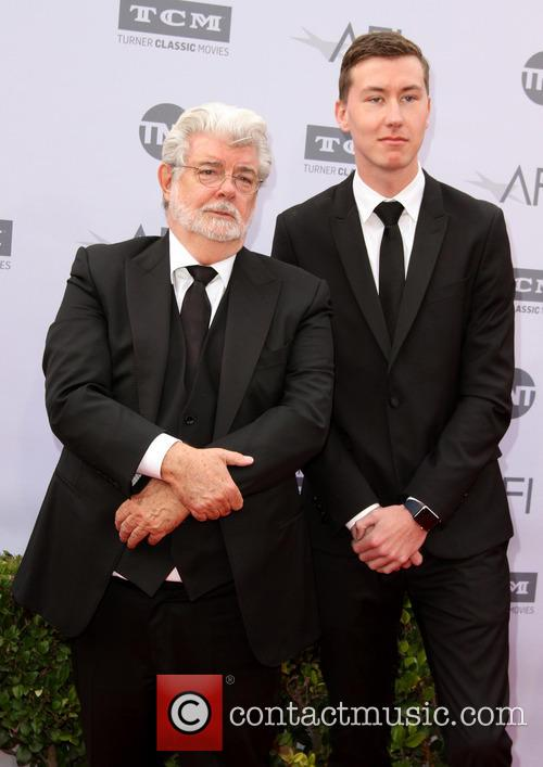 George Lucas and Son Jett Lucas 3