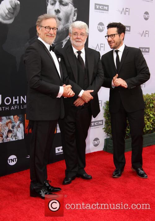 Steven Spielberg, George Lucas and J.j. Abrams 6