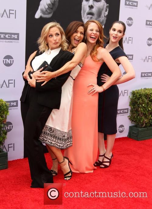 Marlee Matlin, Constance Marie, Katie Leclerc and Vanessa Marano 2