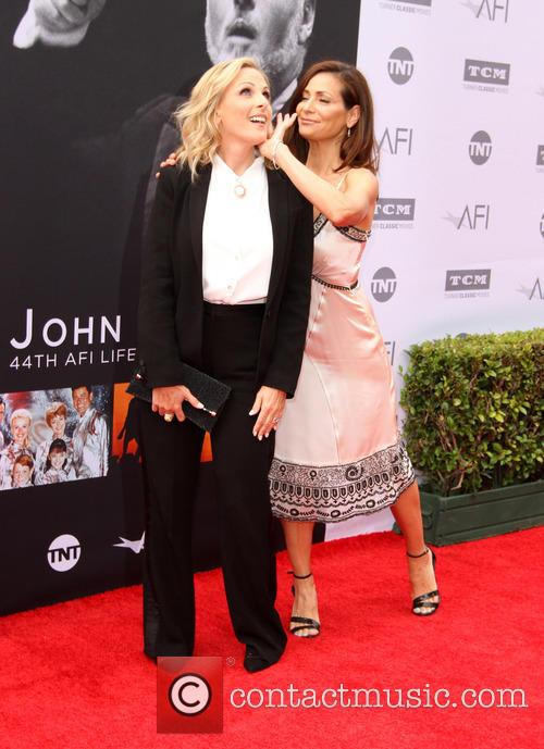 Marlee Matlin and Constance Marie 9
