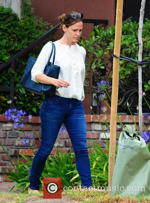 Jennifer Garner out with her daughter in Brentwood