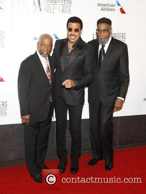Leon Huff, Lionel Ritchie and Kenneth Gamble 2