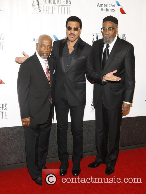 Leon Huff, Lionel Ritchie and Kenneth Gamble 3