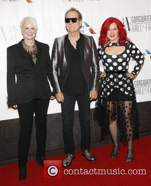 B-52s, Cindy Wilson, Fred Schnider and Kate Pierson 2