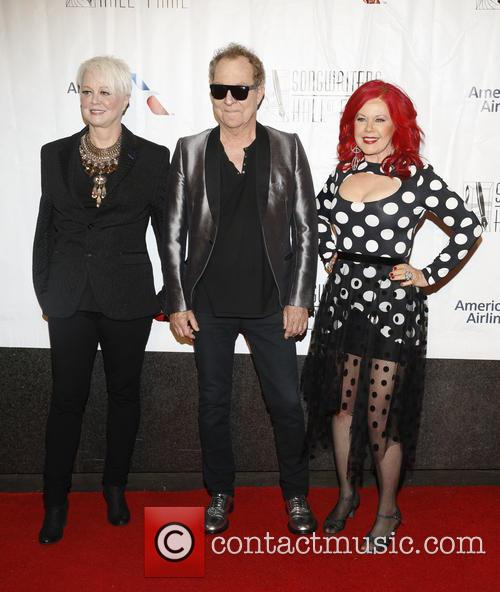 B-52s, Cindy Wilson, Fred Schnider and Kate Pierson 3