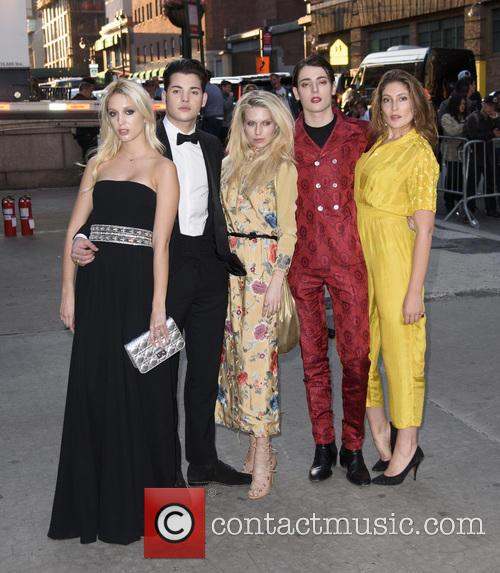 Maria-olympia, Peter Brant Ii, Theodora Richards, Harry Brant and Stella Schnabel 2