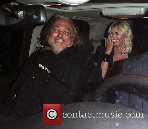 Kourtney Kardashian, Chloe Simms, Robert Tchenguiz and Lindsay Lohan