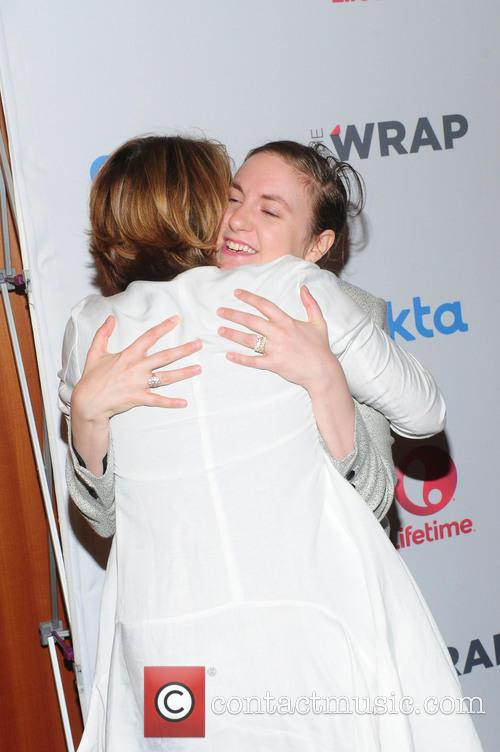 Sharon Waxman and Lena Dunham 1