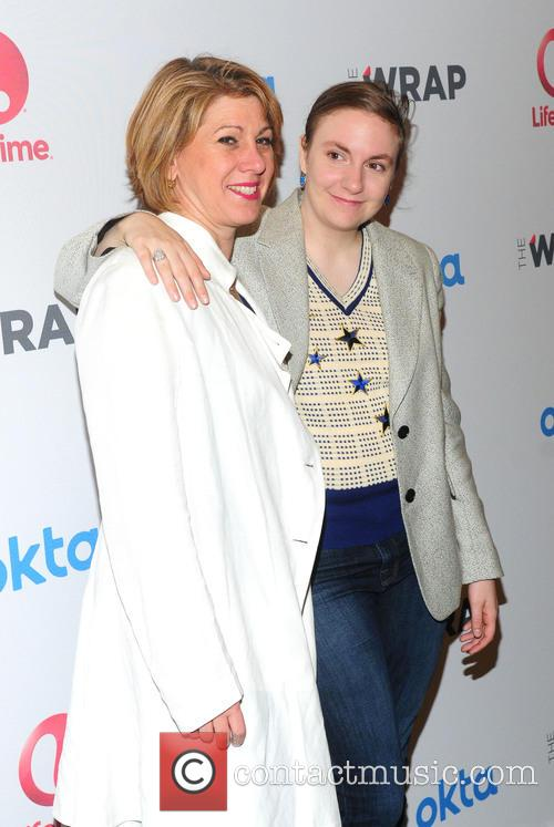 Sharon Waxman and Lena Dunham 2