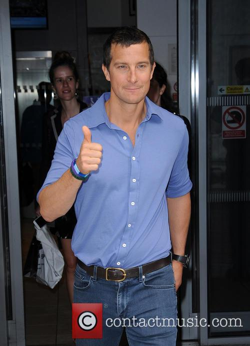 Bear Grylls at BBC Radio 2