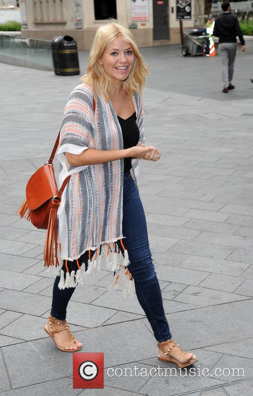 Holly Willoughby arrives at Global House