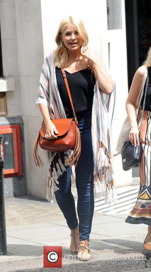 Holly Willoughby at BBC Radio 2