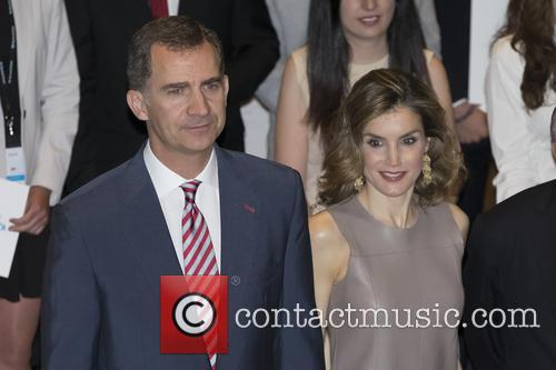 Queen Letizia Of Spain. King Felipe Vi Of Spain 3