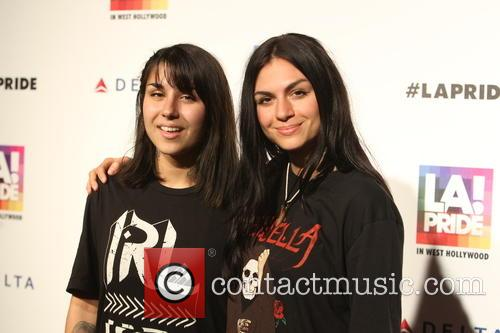 Jahan and Yasmine Yousaf Of Krewella 1