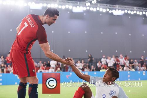 Cristiano Ronaldo and Gerson Correia Adua 4