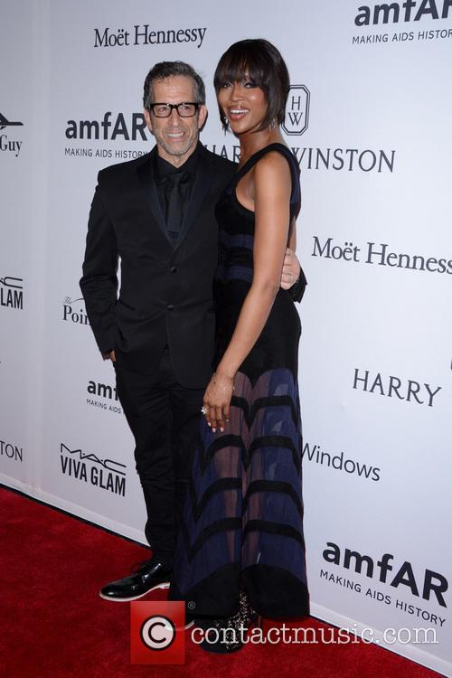 Kenneth Cole and Naomi Campbell 2