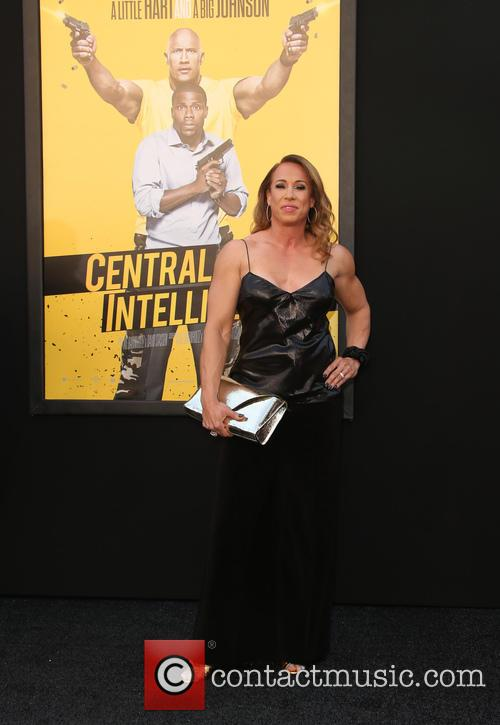 Dany garcia premiere of warner bros pictures central intelligence