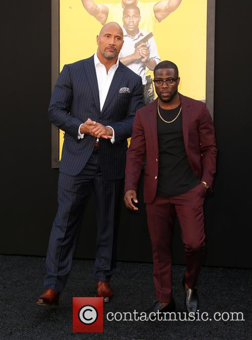 Dwayne 'the Rock' Johnson and Kevin Hart 1
