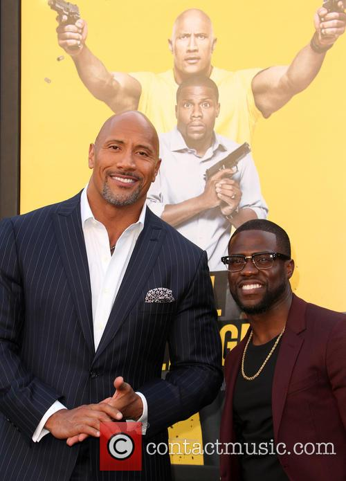 Dwayne 'the Rock' Johnson and Kevin Hart 3