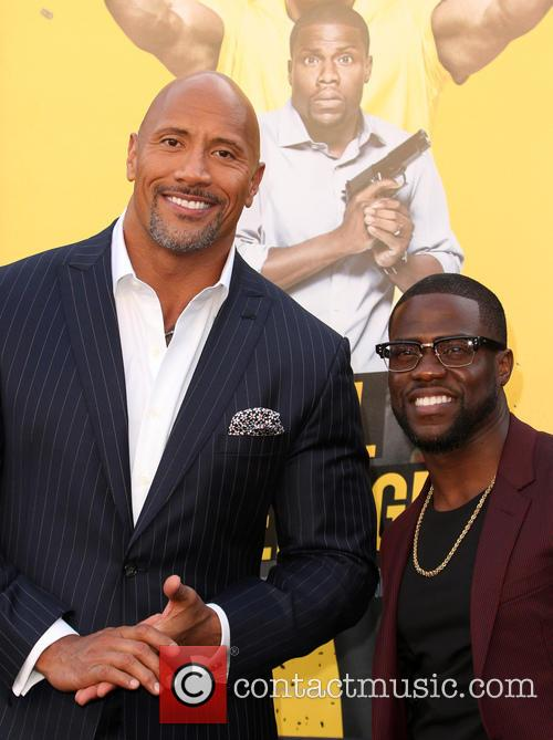 Dwayne 'the Rock' Johnson and Kevin Hart 4