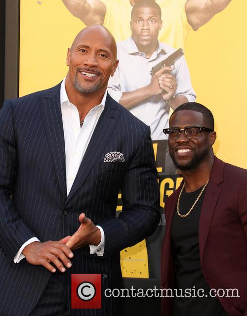 Dwayne 'the Rock' Johnson and Kevin Hart 5
