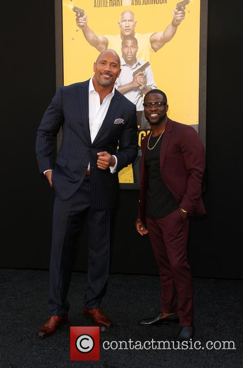 Dwayne 'the Rock' Johnson and Kevin Hart 6
