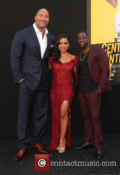 Dwayne 'the Rock' Johnson, Danielle Nicolet and Kevin Hart 7