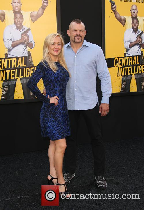 Heidi Northcott and Chuck Liddell