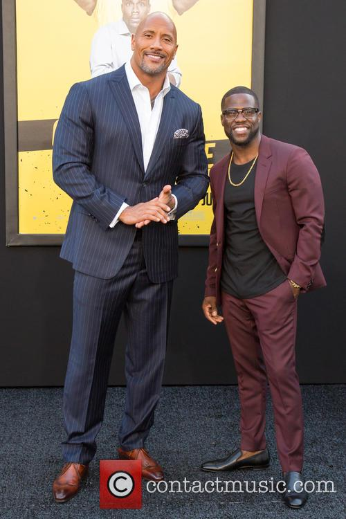 Dwayne Johnson and Kevin Hart 3
