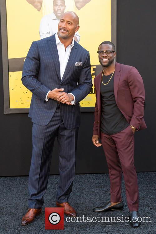 Dwayne Johnson and Kevin Hart 4