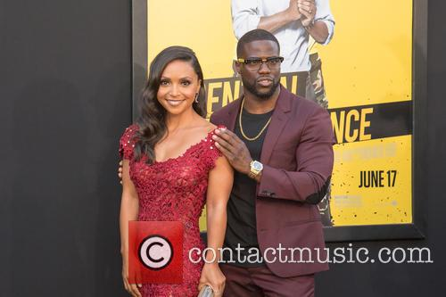 Danielle Nicolet and Kevin Hart 1
